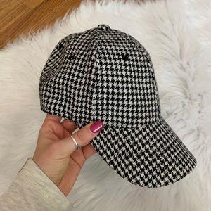 Herringbone Checkered Hat